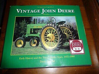 Vintage John Deere History & 2-Cylinder Years 1837-1960 years book 1996 Used