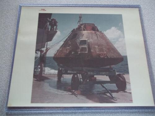 Apollo 14 Vintage Red # NASA Photo