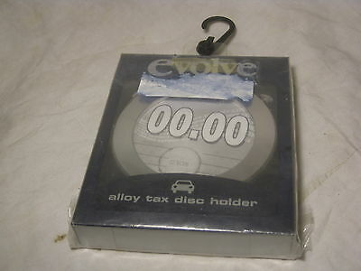 Evolve alloy tax disc holder Paladone Products PP2008 windscreen holding nip