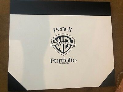 WARNER BROTHERS PENCIL PORTFOLIO ORIGINAL PRODUCTION DRAWINGS