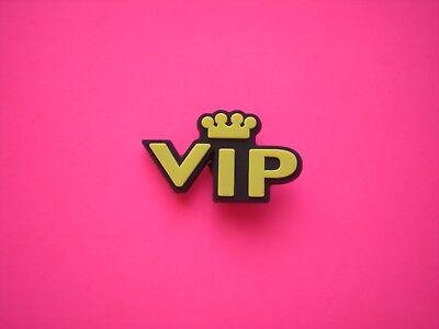 17904f4911e7a3 VIP Jibbitz Croc Clog Shoe Charm Plug Button Accessories Bracelet WristBand  VIP