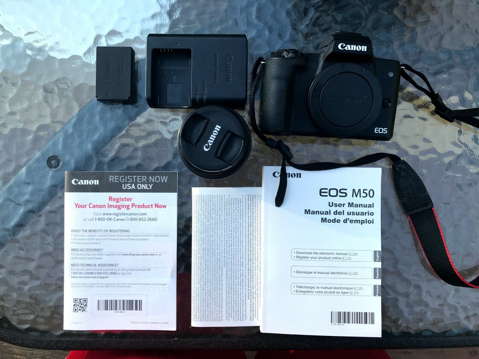Canon EOS M50 24.1MP Mirrorless Digital Camera With 15-45mm STM Lens - Black - $530.00