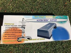 Hart sport three height adjustable aerobic step West Ryde Ryde Area Preview