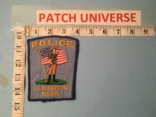 LEXINGTON NEBRASKA  POLICE  SHOULDER PATCH  O065