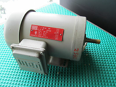 New Weg 1 Hp Motor Bl-1-12-56 Lr 38324 1150 Rpm Free Shipping