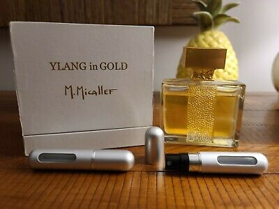 """M.Micallef """"Ylang in Gold"""" ~ 5ml/0.17 FL Oz - Travel Size"""