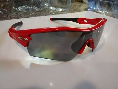 Oakley Radar Path Infrared With black iridium polarized lens authentic