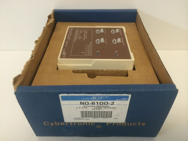 NEW OLD STOCK JOHNSON CONTROLS NQ-6100-2 RELAY STAGING NETWORK MODULE