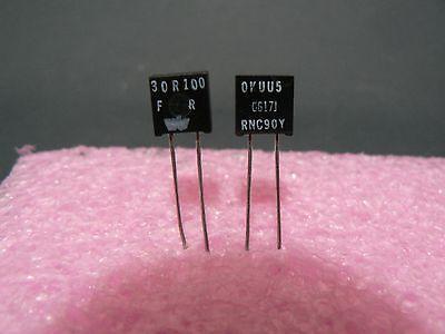 4 Pcs Vishay Dale Rnc90y Series Metal Foil Resistor Rnc90y30r100fr 30.1 Ohm 1