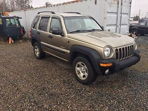 Trade 04 Jeep Liberty 3.6L 5 speed for dirt bike