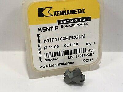 Kennametal Kentip Drill Ktip1100hpcclm 11mm New Carbide Insert Grd Kc7410 1pc