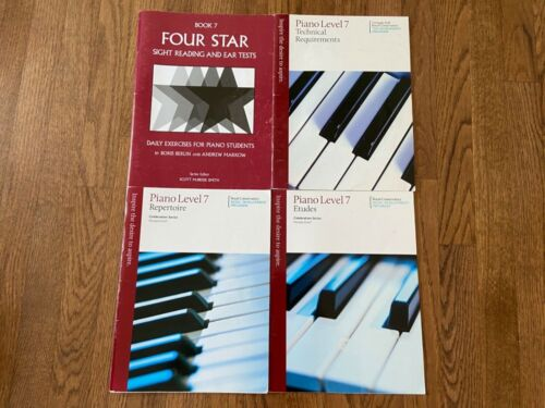 Royal Conservatory Celebration piano repertoire etude sightreading level 7 SET!!