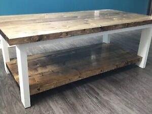 Brand new, solid wood, coffee tables.