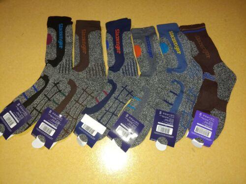 4 Pairs Slazenger Men Long Socks for Climbing/Hiking/Outdoor Sports Coolmax