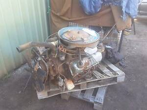 Ford F-100 4x4 v8 motor, gearbox and transfer case complete Mundaring Mundaring Area Preview