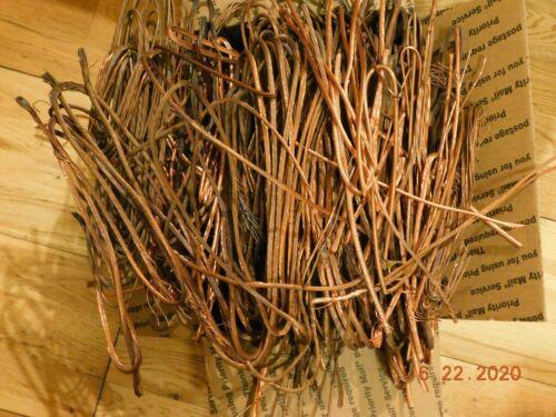 25lb Clean Bare Scrap Copper Wire For Crafts, Jewelry, Melt