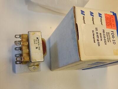 Triad Fd4-10 Transformer Pri 115230v Secondary 10vct 0.6a