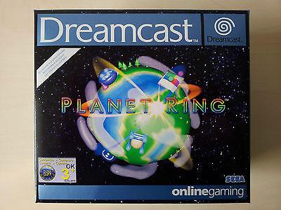 NEU&OVP: SEGA Dreamcast BigBox PLANET RING inkl.Mikrofon,Online-Gaming 2-32 Pl.