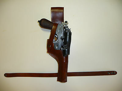 Star Wars Brown DL-44 Luke Skywalker Rebel Pilot LEATHER HOLSTER fits - Blaster Holster