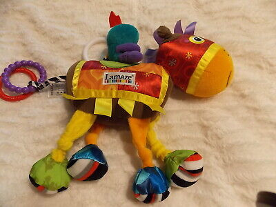 Lamaze Horse With Knight Riding Developmental Hanging Toy Perfect Condition