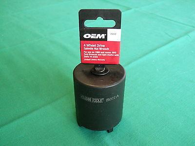 Axle Lock Nut Socket Tool Ford Bronco F150 Gm Dana 44  Popular Fits 4 Slot Nuts