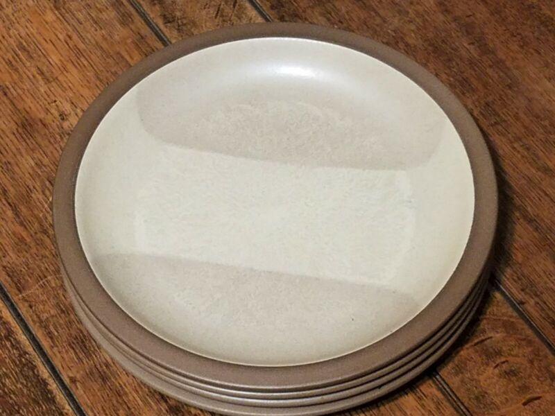 "Vintage Heath Ceramics 11 1/2"" Birch Dinner Plates (4) California Pottery"