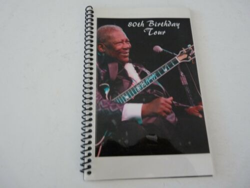 BB King Music Festival 2005 RARE Concert 80th Birthday Tour Itinerary Book