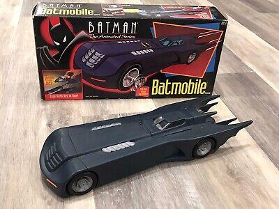 Vintage Kenner 1992 Batman The Animated Series Batmobile Nice Box Amazing Shape