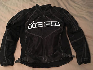 Medium Icon Contra Motorcycle Jacket