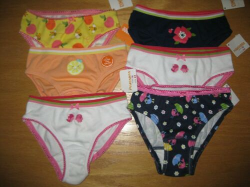 NWT Gymboree Girls 2T-3T Lot of 6 Pair Underwear Panties