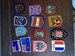 International badges/patches