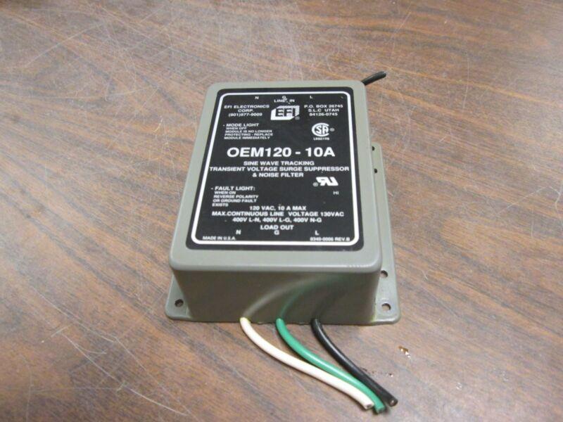 EFI Sine Wave Tracking Transient Voltage Surge Suppressor & Noise Filter Used