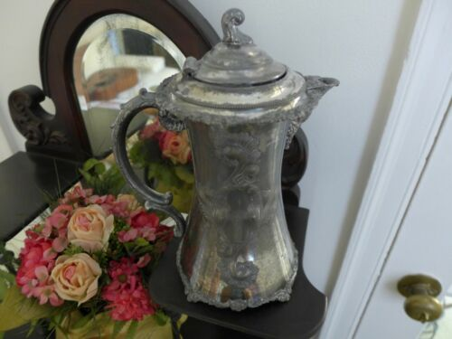 ANTIQUE  esTaTe SaLe> fifth gEnEraTiON FaMiLly owned ■ silver VICTORIAN pitcher