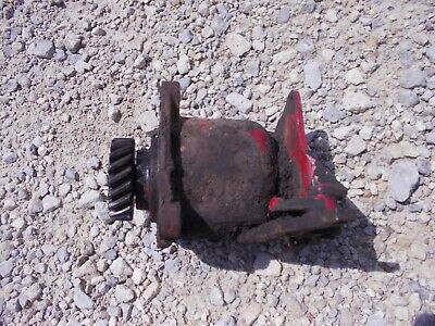 International 656 High U Tractor Ih Good Working Governor Assembly Cover Farmall