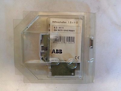1 NIB ABB S2-H11 GH-S270-1916-R0001 AUXILIARY CONTACT 6AMP 2POLE 220VDC 400VAC