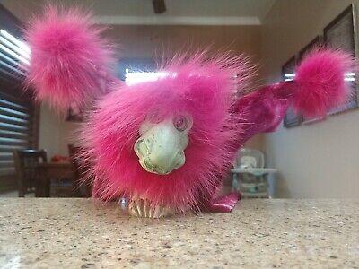 Vintage Albert Alfaro Imaginarium Galleries Drabbit Shoulder Puppet Pink Dragon!