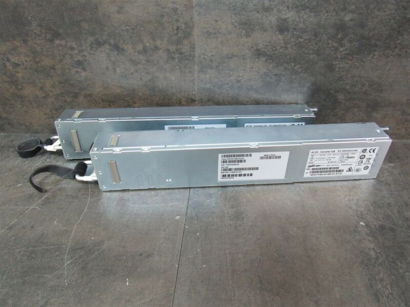 Lot of 2 Cisco N55-PAC-1100W-B 5500 1100W Power Supply Back to Front 341-0461-03