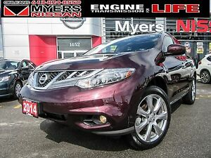 2014 Nissan Murano PLATINUM, NAVIGATION, LEATHER, BACK UP CAMERA