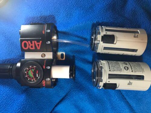 Ingersoll rand ARO combination filter/regulator/lubricator