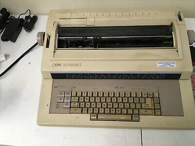 Vintage Xerox Memory Writer Memorywriter 6010 Electric Typewriter