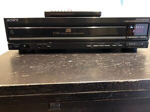 Sony CDP-C500 5 Disc CD Player