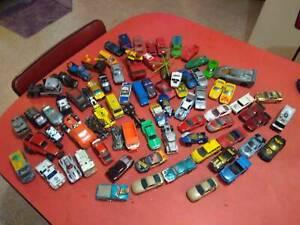 Lot of vintage hot wheels & matchbox cars