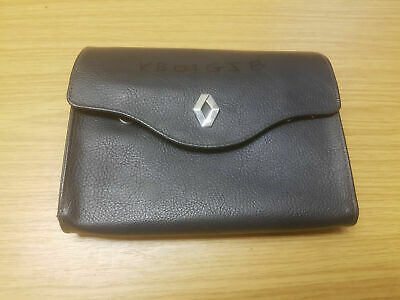 Renault Scenic 03-09 Document Wallet With Original Manuals Booklets Service Book for sale  Shipping to Ireland