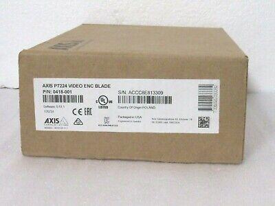 Axis 0418-001 P7224 Video Encoder Blade Cta