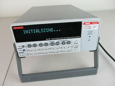 Keithley 6517b Electrometer High Resistance Meter Excellent Condition