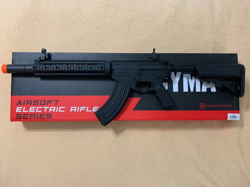 CYMA Sport AR-47 SR-47 Airsoft AEG Rifle Quad Rail Uses Airsoft AK Magazines