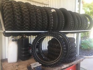 Slightly used knobby tyres Samford Village Brisbane North West Preview