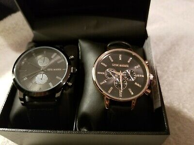 Steve Madden His And Hers Watch Set Mens Ladies Gift