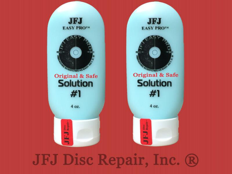 2 - 4oz Advanced Solution Compound #1 Blue JFJ Easy Pro Single Double Disc (8oz)