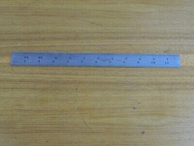 Starrett C604r 12 Inch 4 Grad Ruler Machinist Toolmaker Metal Worker